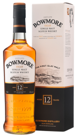 Bowmore 12 Year Old Bottle and Box