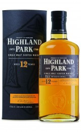 Highland Park 12 Bottle and Box