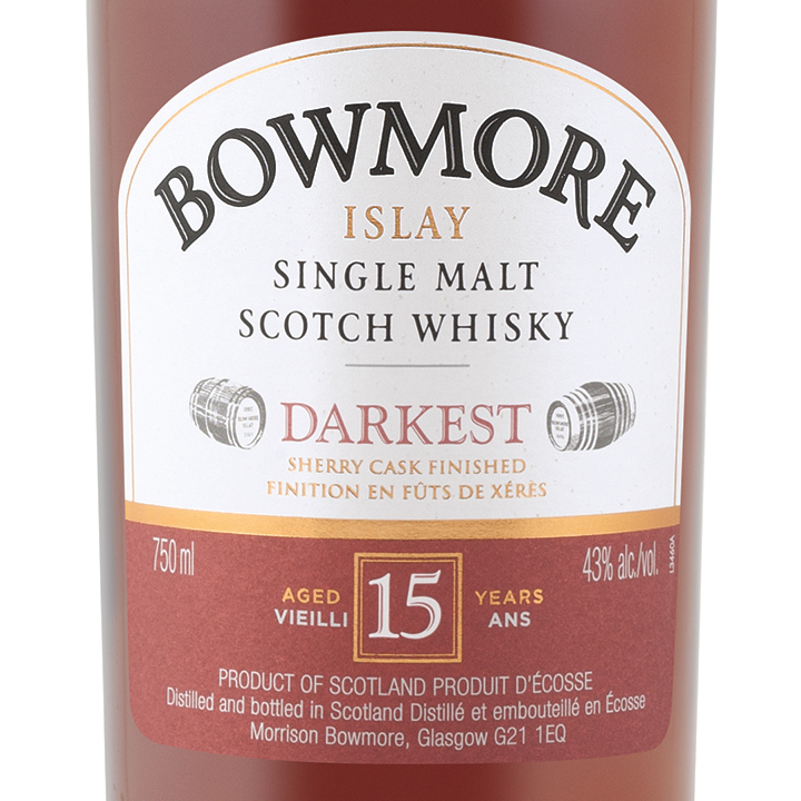 838423197d1 Bowmore 15 Year Old Islay Single Malt Scotch Whisky Delivery